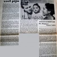 Article Ria Koppers, Simon André & baby Peter