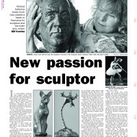 Jessie Vonk - New passion for sculptor